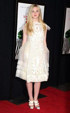 Elle Fanning in Louis Vuitton.