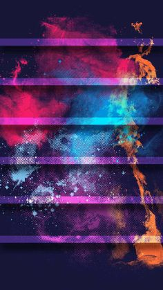 ↑↑TAP AND GET THE FREE APP! Shelves Abstract Art Colorful Awesome Bright Splash HD iPhone 6 plus Wallpaper
