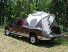 "pickup-truck-tent <3 Click here: https://www.facebook.com/bound4burlingame and ""LIKE"" to get camping tips/ideas/deals on your facebook newsfeed."