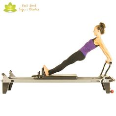 long back stretch pilates reformer exercise 3