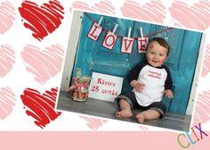 valentine photography KISSES