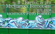 Erfolg in in der Microstock Fotografie hängt manchmal vom richtigen Format ab.