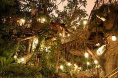 Ideal elvish village