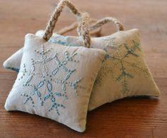 Snowflake Ornaments  Christmas Tree