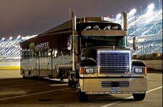 Mack, Transporter, Hauler, NASCAR, Monster Energy