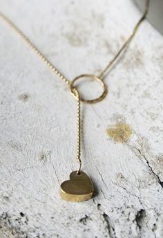 Sweet little heart necklace
