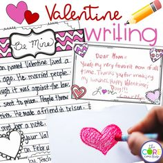 Valentine lesson plans with many ELA activities. Students read and discuss a printable or projectable text, answer text dependent questions, take notes, respond in writing and complete a craft.