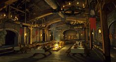 The mead hall from Beowulf