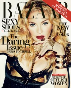 """""""When you're 25, it's a little bit easier to be daring, especially if you are a pop star, because eccentric behavior is expected from you."""" — Madonna"""