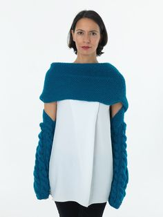 Knit.thing 03 - Turquoise Blue - READY TO SHIP