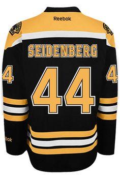 3285ecdc3 Boston Bruins Dennis SEIDENBERG  44 Official Home Reebok Premier Replica  Adult N CoolHockey