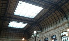 Here's the train station of Bourdeaux, which is absolutely amazing.