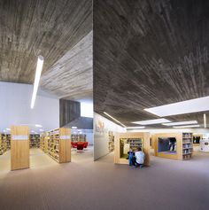 Seinäjoki City Library Expansion by JKMM Architects #Architecture #Library #Finland