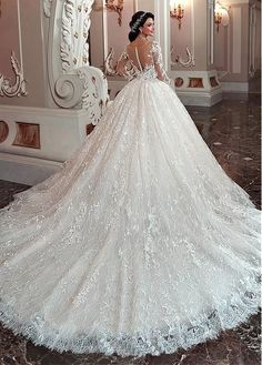 White bride dresses. All brides think of finding the most appropriate wedding, however for this they need the best wedding gown, with the bridesmaid's dresses actually complimenting the brides dress. Here are a few tips on wedding dresses.