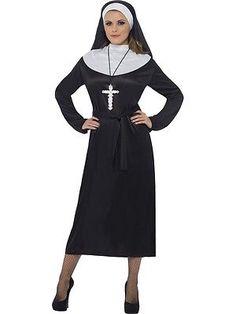 Phase 8 white dress nun
