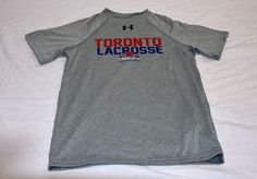 Toronto Rock, Under Armour T Shirts, Youth, Collections, Store, Grey, Mens Tops, Products, Fashion