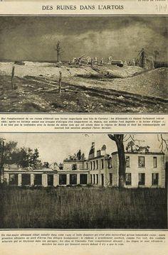 WWI, 7 Oct 1915, Ruins Artois. Le Pays de France, via Ebay