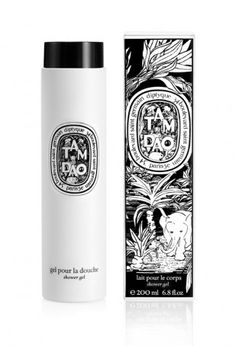 Diptyque Tam Dao shower gel. In a perfect world, wouldn't cost $44/bottle.