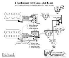 GuitarElectronicscom Guitar Wiring Diagram 2 Humbuckers3Way