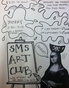 DRAWS Attention!!!: Art Club