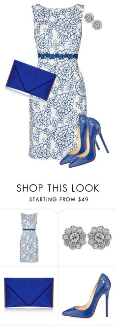 Just a Phase by toots2271 on Polyvore featuring Phase Eight and Christian Louboutin