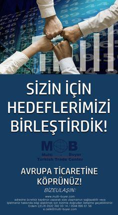 Almanya-Bremen'de faaliyete geçen Türk Ticaret Merkezi, devlet kanalları, çözüm ortakları ve saymakla bitmeyecek avantajları ile size ihracatta en iyi koşulları sunabilmek için bir araya gelerek hedeflerini birleştirmiştir. BİZE ULAŞIN