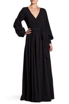 Lilypad Faux Wrap Maxi Dress by Meghan LA on @HauteLook