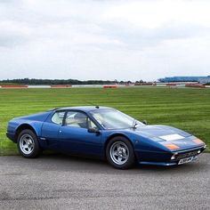 The 1973 Ferrari Berlinetta Boxer was their first mass-produced car to have the engine behind the driver.