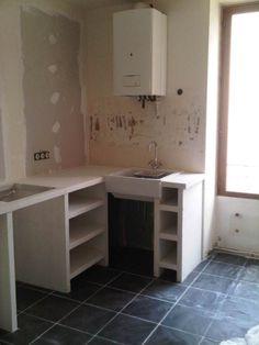 faire des etageres en beton cellulaire recherche google diy pinterest b ton cellulaire. Black Bedroom Furniture Sets. Home Design Ideas