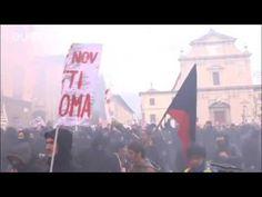 Firenze  scontri tra i manifestanti del corteo  No Renzi  e la polizia  ...