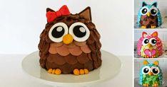 Podrobný návod na dort ve tvaru sovičky