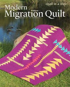 From the Geese Migrations book, this quilt, called  Ripples  was ... : cozy quilts port hope - Adamdwight.com