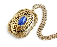 Vintage Avon Locket Necklace  Yesteryear Picture by MaejeanVINTAGE, $20.00