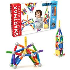 SMARTMAX Build & Light Set - With magnetic parts, light-up parts, and compatibility with other sets, what's not to like?