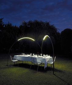 photo inspired - loving these outdoor lights from www.vibia.com