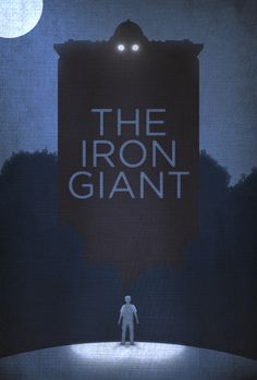 """The Iron Giant, played by Vin Diesel in the 1999 animated film """"The Iron Giant"""""""