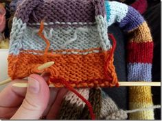 How to knit in ends as you go. No more sewing them in after! Yay!
