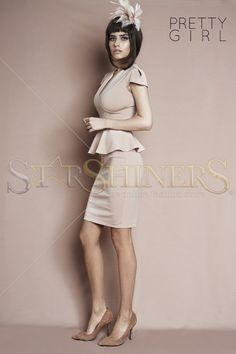 PrettyGirl Celebration Brown Dress