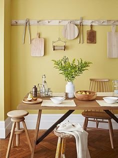 Pastel Paint Hues to Wake Up Your Walls! - Sundance by Benjamin Moore (Pastel Paint Colors — One Kings Lane) - Pastel Paint Colors, Pastel Walls, Yellow Kitchen Walls, Kitchen Wall Colors, Yellow Kitchens, Pastel Yellow, Mellow Yellow, Pale Yellow Walls, Lemon Yellow