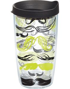 The ideal tumbler for you Mustache Aficionados $15.00  Mine!!!