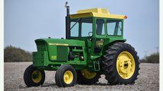 1972 John Deere 4320 Diesel presented as Lot at Harrisburg, PA Old John Deere Tractors, Jd Tractors, Vintage Tractors, Vintage Farm, John Deere Equipment, Heavy Equipment, John Deere 4320, Tractor Implements, Rubber Tires