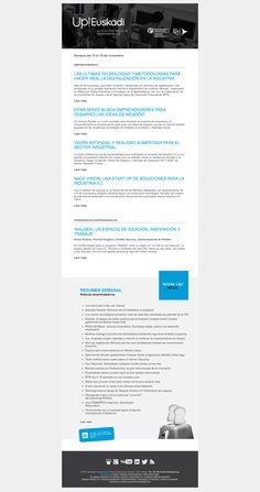 Noticias de Emprendimiento/ UP Euskadi (13 al 19 de noviembre 2017) 21/11/2017
