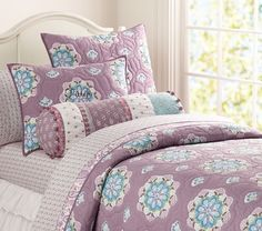 Brooklyn Quilted Bedding | Pottery Barn Kids - for the built ins