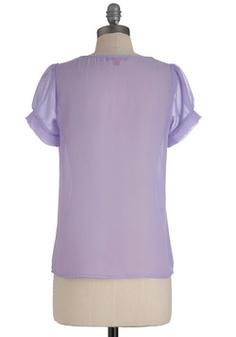 New Flame Top in Lilac, #ModCloth