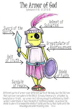 Young Women Ideas from 2 sisters: Armor of God- YM/YW Combined Activity