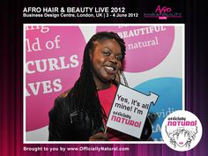 Afro Hair and Beauty Show 2012, London UK