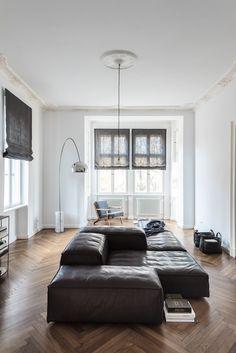 A Traveller's Home in Berlin by Annabell Kutucu #interiordesign #livingdivani