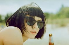 CUTE sunglasses, and cut