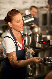 Mindy Segal, long one of Chicago's premier pastry chefs, stepped up into savory with Hot Chocolate and just keeps surprising us thanks to her massive talent and serious work effort.