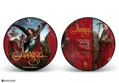 "ARKANGEL ""Prayers Upon Deaf Ears"" Picture disc vinyl 10"" Gold edition"